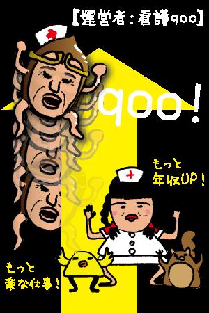 年収アップは看護qooにお任せ!