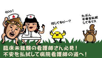 臨床未経験の看護師さん必見!不安を払拭して病院看護師の道へ!